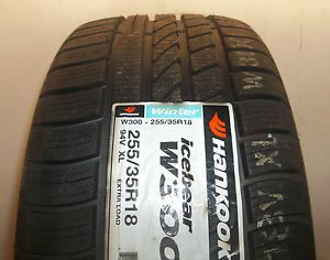 Hankook 255 35R18 94V Icebear W300 XL Winter Snow Tire 2553518