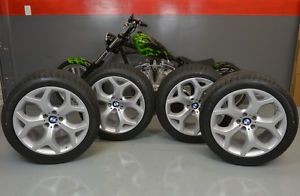 "Brand New 2014 BMW x6 20"" inch Y Spoke Style 214 Wheels Tires Set Dunlop"
