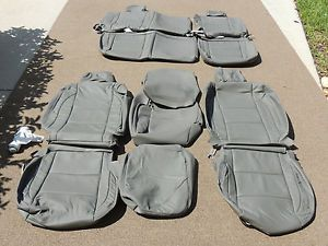 Nissan Titan King Cab Leather Interior Seat Covers Seats 2006 2007 2008 54