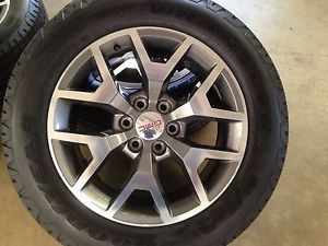 2014 GMC Sierra All Terrain Factory 20 inch Wheels and Tires Brand New New New