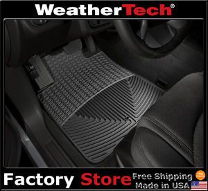Weathertech® All Weather Floor Mats 2009 2012 Chevrolet Traverse Black
