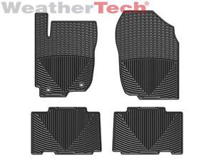 Weathertech® All Weather Floor Mats Toyota RAV4 2013 Black