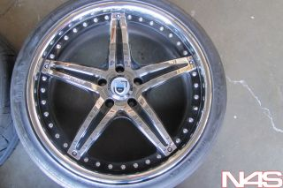 "20"" asanti AF144 Lexus gs350 460 GS Chrome Wheels Rims Nitto Invo Tires"