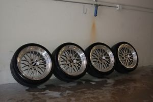 "19"" BBs LM Wheels Tires Genuine 2 Piece BBs Rims BMW E39 M5"