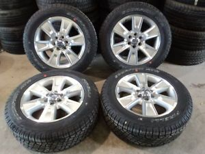 "Factory 20"" Ford F150 FX4 Aluminum Wheels and Pirelli ATR 275 55R20 Tires"