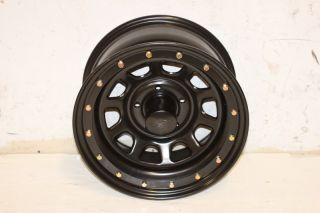 1 Black Rock 952 Series Wheel 16x8 5x5 07 10 Jeep Wrangler JK