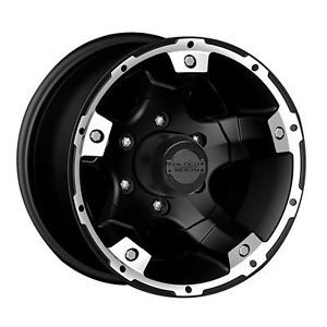 "Black Rock Series 900 Viper Matte Black Wheel 15""x8"" 6x5 5"""