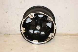 1 Black Rock Viper 900 Wheel 15x8 5x4 5 87 06 Jeep Wrangler YJ TJ XJ ZJ Black