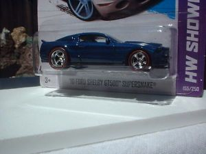 Hot Wheels 2013 '10 Ford Shelby GT500 Supersnake Custom Paint Wheels R R