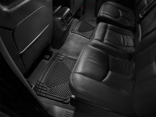 Weathertech® All Weather Floor Mats 2001 2006 Chevy Silverado Extended Cab Black