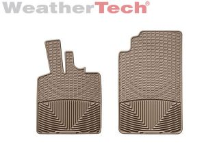 Weathertech® All Weather Floor Mats Smart Car Fortwo 2008 2013 Tan