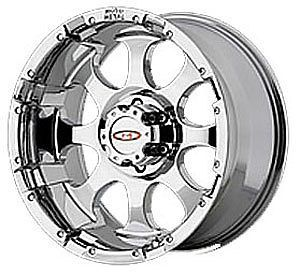 American Racing 95568087200 Moto Metal Series MO955 Chrome Wheel