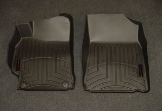 WeatherTech Digital Fit Black Front Floor Mats Liners 12 13 Toyota Camry 444001