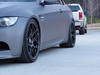 "20"" HRE P40SC Wheels and Hankook Tires for BMW E92 M3"