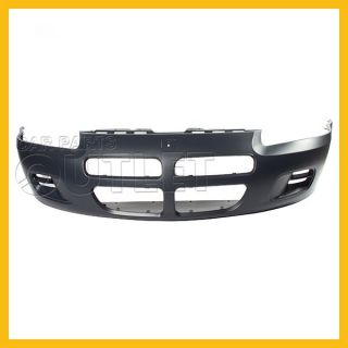 01 03 Dodge Stratus Sedan Front Bumper Cover CH1000324 Primered New Wo Fog Holes