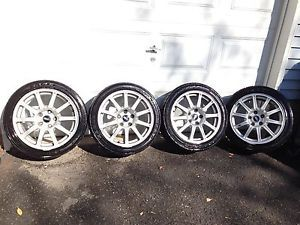 06 WRX STI BBs Wheels Used with Spare