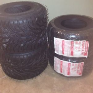 Bridgestone YKP YJP Tire Sets 4 50 4 50 New Go Kart Rain Tires