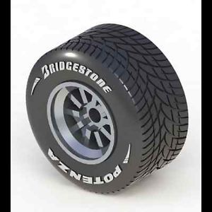 1 24 Formula 1 Wet Rain Tire Set Bridgestone V1