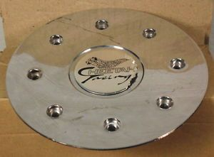 Cheetah Racing Wheels Chrome Custom Wheel Center Cap Caps 1