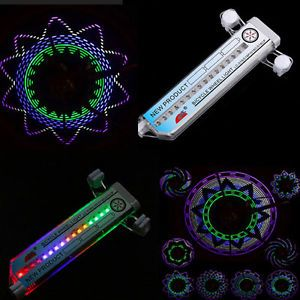 16 LED Flash Bike Bicycle Car Motorcycle Tire Valve Wheel Spoke Light