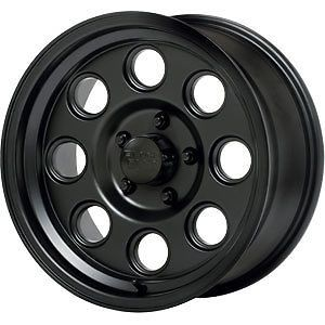 4 New 15x6 0 Offset 6x139 7 Black Rock Yuma Black Wheels Rims