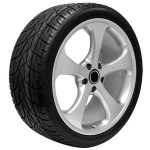 "22"" inch VW Touareg Custom Wheels Rims and Tires Fits 2003 2013 Models"