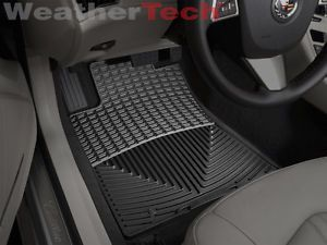 WeatherTech All Weather Floor Mats Cadillac CTS CTS V w AWD 2008 2012 Black
