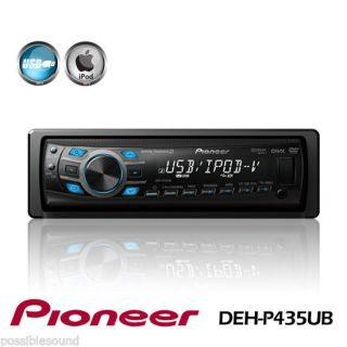 Pioneer DVH P435UB DIN Car Stereo DVD Player CD  USB iPod iPhone
