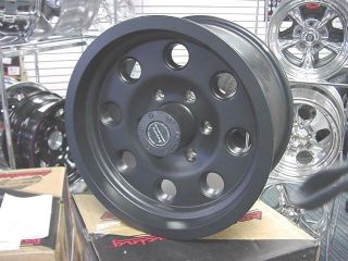 American Racing Black Mojave 16x8 Ford Chevy Ford 8 Lug Wheels Teflon
