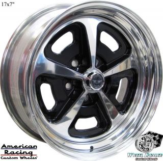 "17"" Aluminum American Racing Magnum VN500 Wheels in Stock Ford Mustang 1970 1971"