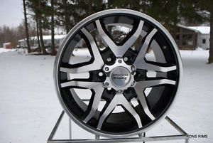 "17x8 Ford F150 04 12 ""Mainline"" American Racing Wheel 6 on 135mm BP"