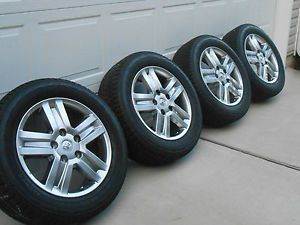 2007 2012 Toyota Tundra Sequoia Wheels and Tires 275 55 20 Bridgestone