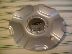 "AR607 American Racing ""Painted Silver"" Custom Wheel Center Cap Hub 1607200016"