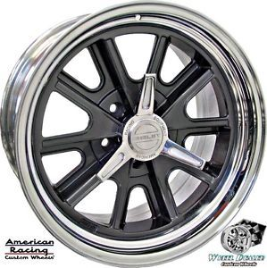 "17x8"" 17x9 5 American Racing Shelby Cobra VN427 Wheels Ford Gran Torino 1973"