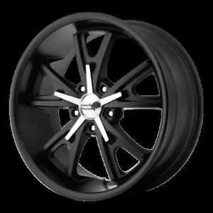 "20"" American Racing Hot Rod Daytona Black Wrangler Tahoe Suburban Wheels Rims"
