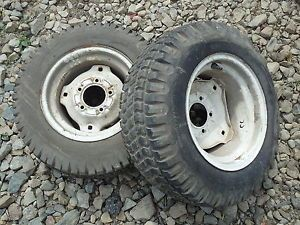 Cub Cadet 125 Tractor BF Goodrich 23x8 50 12 Rear Tires Rims