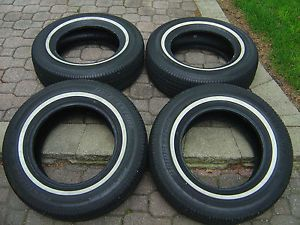 Bridgestone Insignia SE200 P215 70R15 215 70 15 Whitewall Tires Set of 4