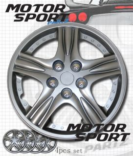 "15 inch 4pcs Set Hubcap Rim Wheel Skin Cover Style 510 15"" inches Hub Caps"