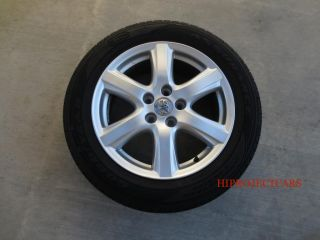 "Factory Toyota Camry 17"" Wheels and Tires"