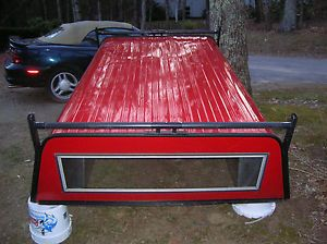 Utility Truck Cap Red Back Doors Ladder Hanger Sweet Yankee Clipper