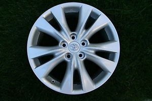 "18"" 2013 Toyota RAV4 Limited OE Silver Alloy Wheels 4 Rims Fits Others"