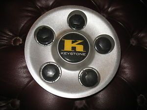 Keystone Aftermarket Silver Center Cap