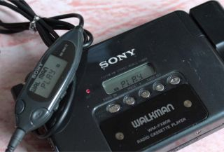 Sony Walkman Auto Reverse Cassette TV Am FM Radio Player Wm FX808 Lot B Japan