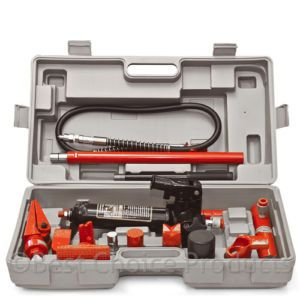 4 Ton Porta Power Hydraulic Body Frame Repair Kit Tools Auto Professional Tools