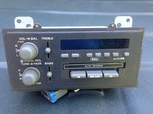 Am/fm Radio Cassette Player