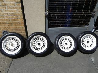 BMW E30 M3 Wheel and Tire Package OEM Used