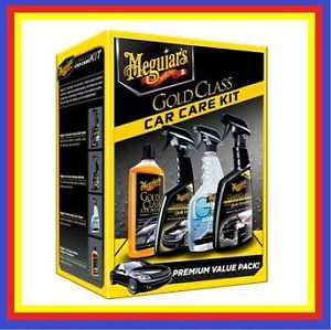 Meguiars Gold Class Car Care Kit New for 2013 4 Items in One Box