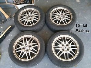 4 Acura Integra LS Mesh Wheels Rims 4 100 15""