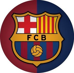 Barcelona Spain Soccer Team Car Window Bumper Stickers Decal Round 4""