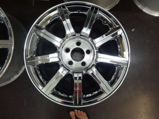 18 inch Chrysler 300C Chrome Clad Factory Wheels Rims